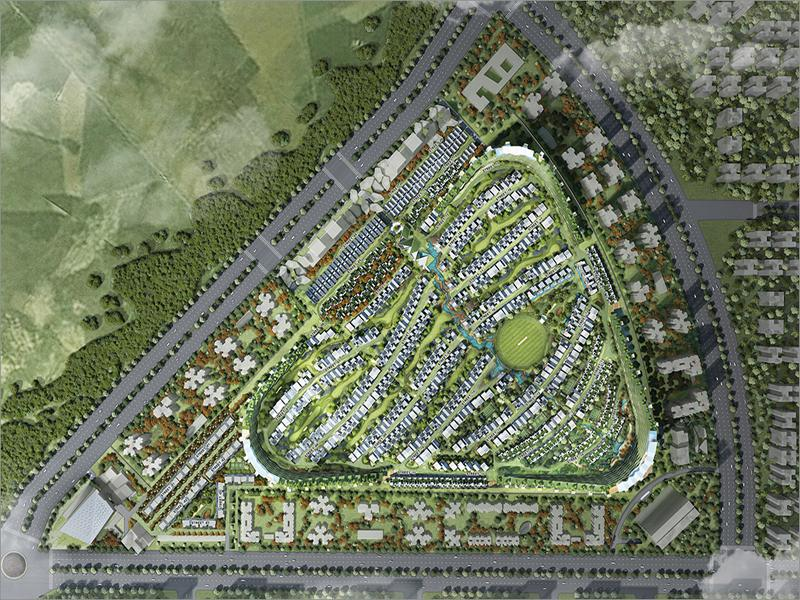 Rise Resort Residences Villas Site Plan